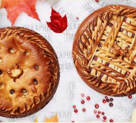 Осенний сет (2 пирога по 1000гр)